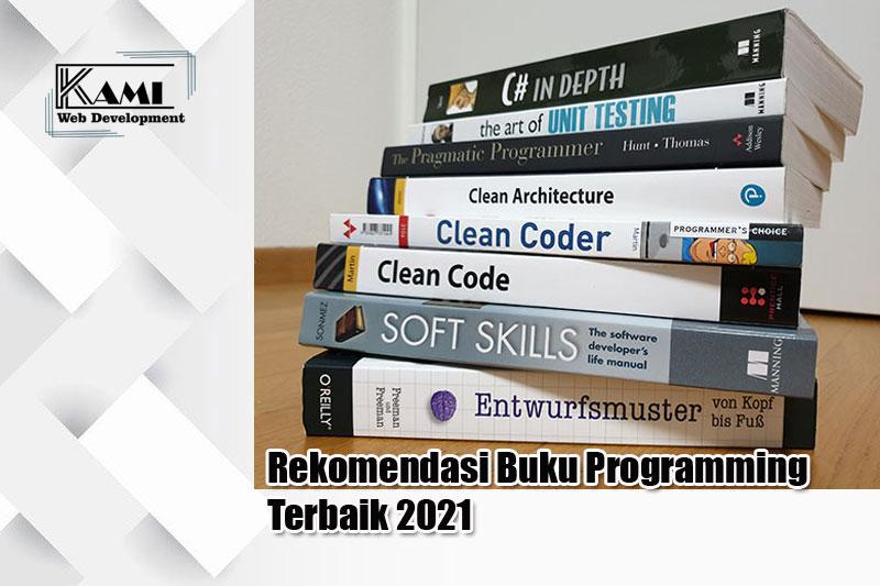 Rekomendasi Buku Programming terbaik 2021
