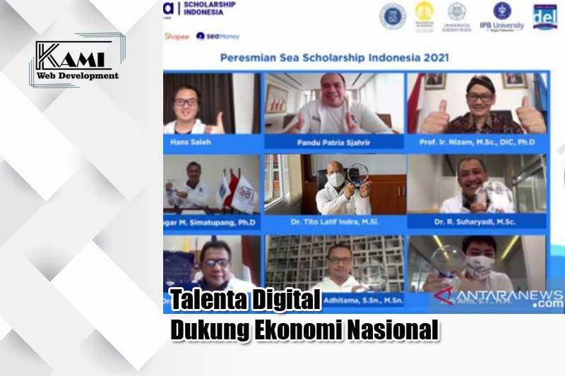 Talenta Digital Dukung Ekonomi Nasional