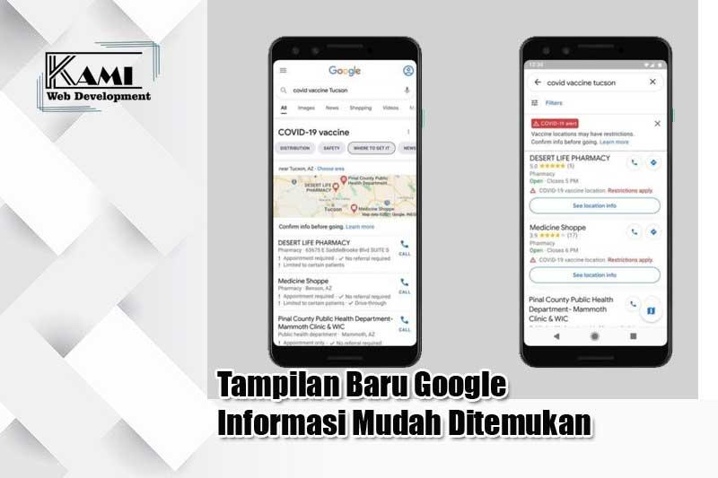 tampilan baru google informasi mudah ditemukan