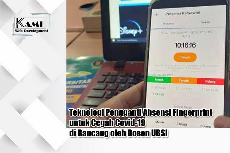 teknologi pengganti absensi fingerprint untuk cegah covid-19