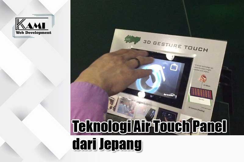 teknologi air touch panel