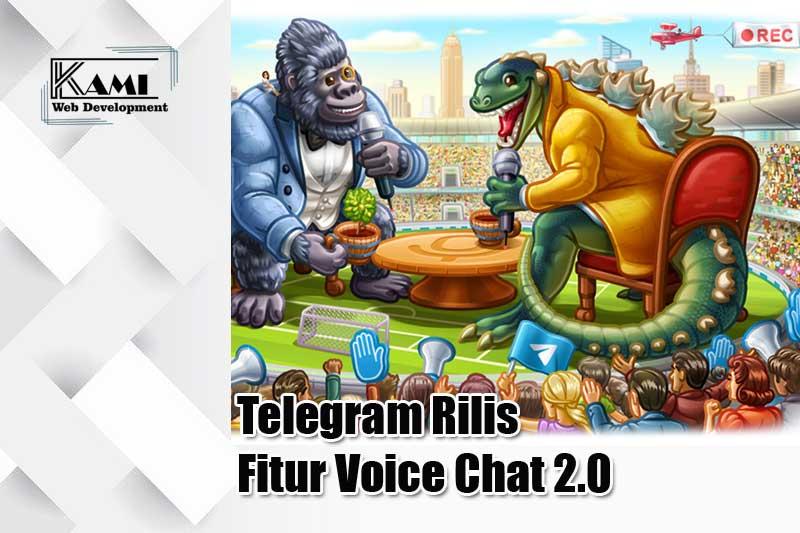 telegram rilis fitur voice chat