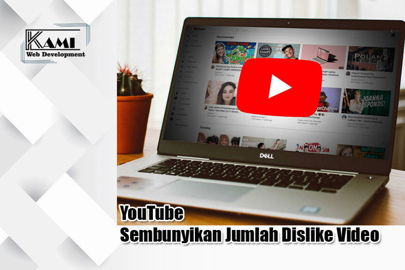 YouTube Sembunyikan Jumlah Dislike Video