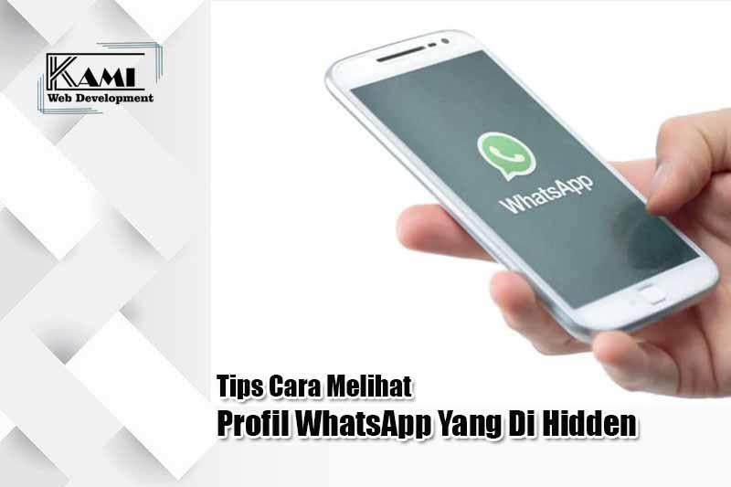 Tips Cara Melihat Profil WhatsApp Yang Di Hidden